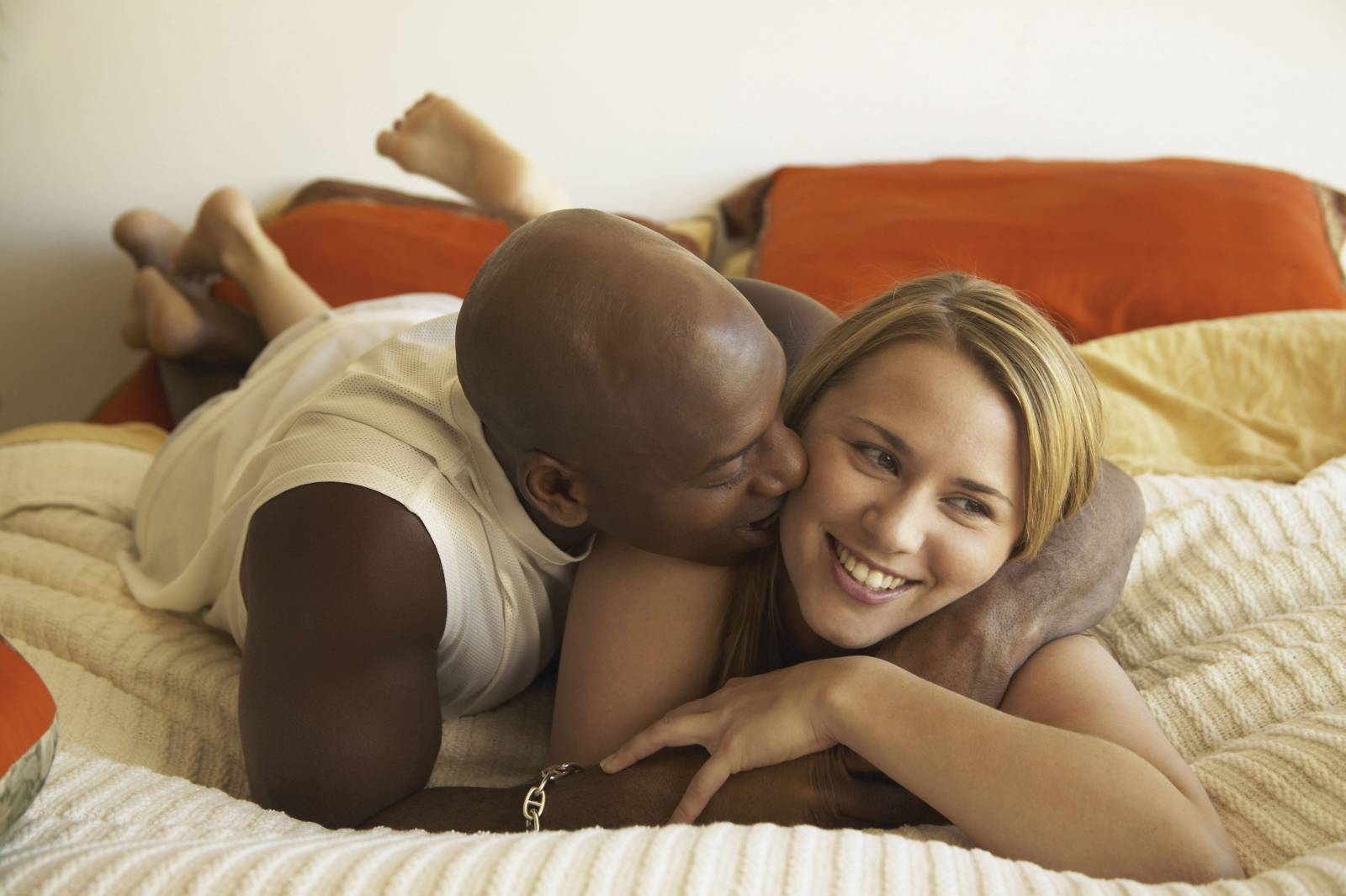 White woman tricked interracial